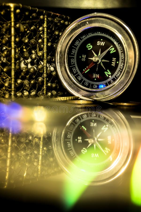 Mooi kompas stock foto's