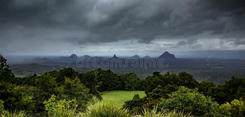 Mooi land dichtbij Brisbane stock afbeelding