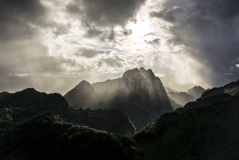 Mooi landschap stock fotografie