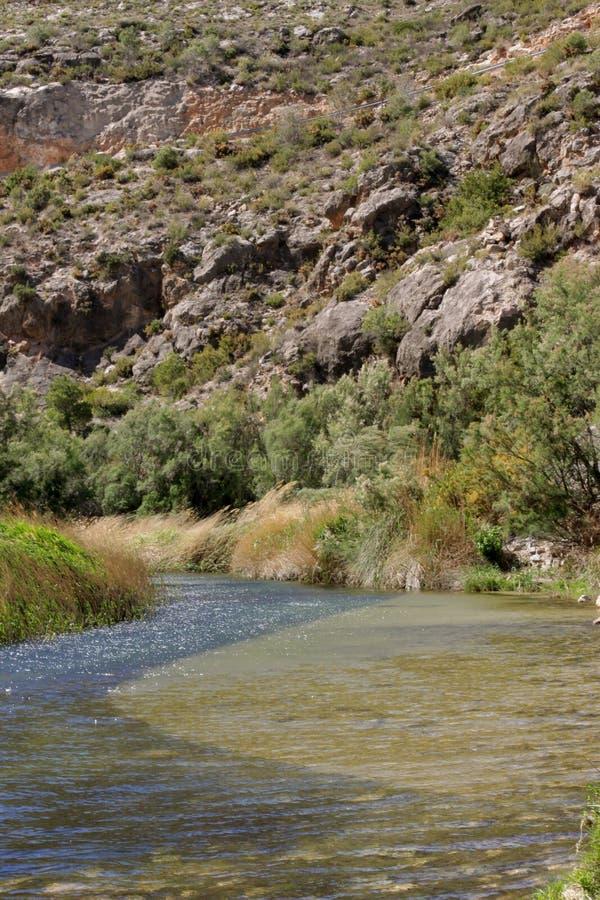 Mooi landschap in de berg royalty-vrije stock foto's