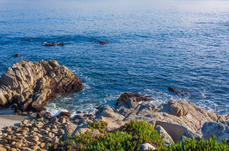 Mooi Landschap op de Kust van Californië royalty-vrije stock fotografie