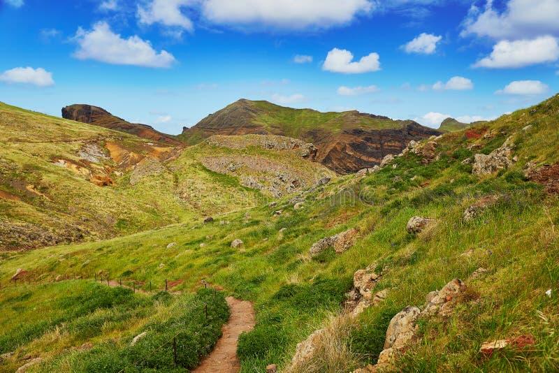 Mooi landschap van Ponta DE Sao Lourenco op de Oostelijke kust van het eiland van Madera royalty-vrije stock foto's
