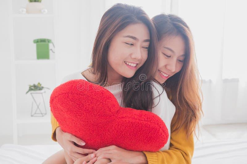 Mooi lesbisch paar samen concept Paar van jonge vrouwen HU royalty-vrije stock foto's