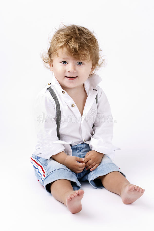 Mooi Little Boy stock afbeeldingen