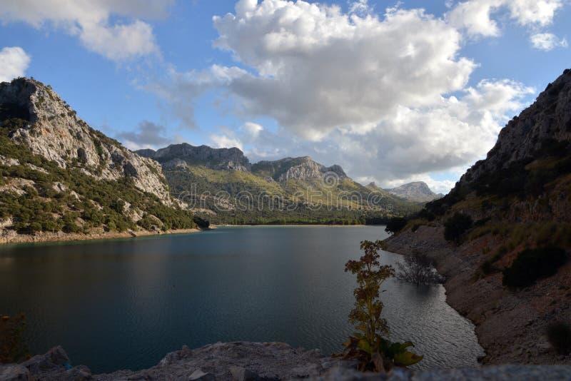 Mooi meer in Mallorca royalty-vrije stock foto