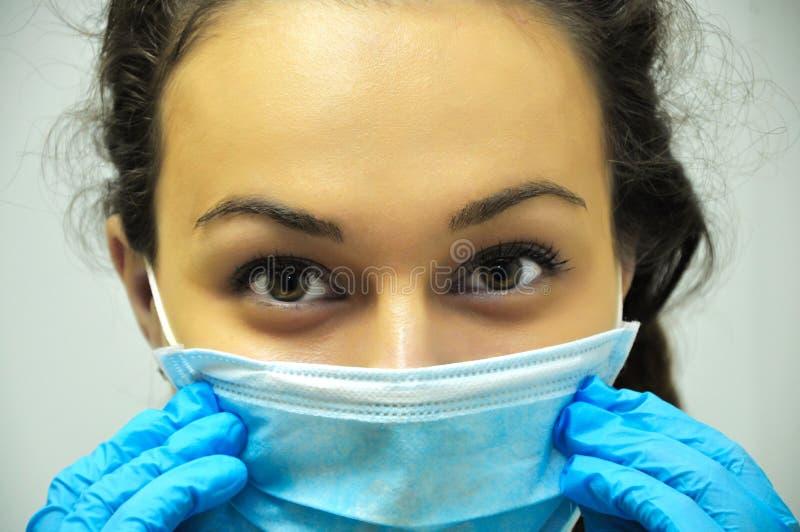 Mooi Meisje, de stomatologie stock afbeelding