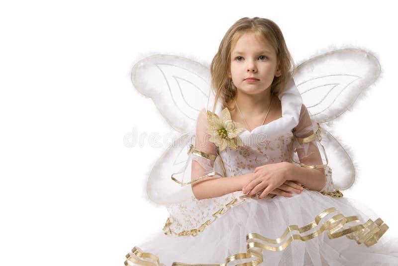 Mooi meisje in elfkleding royalty-vrije stock foto
