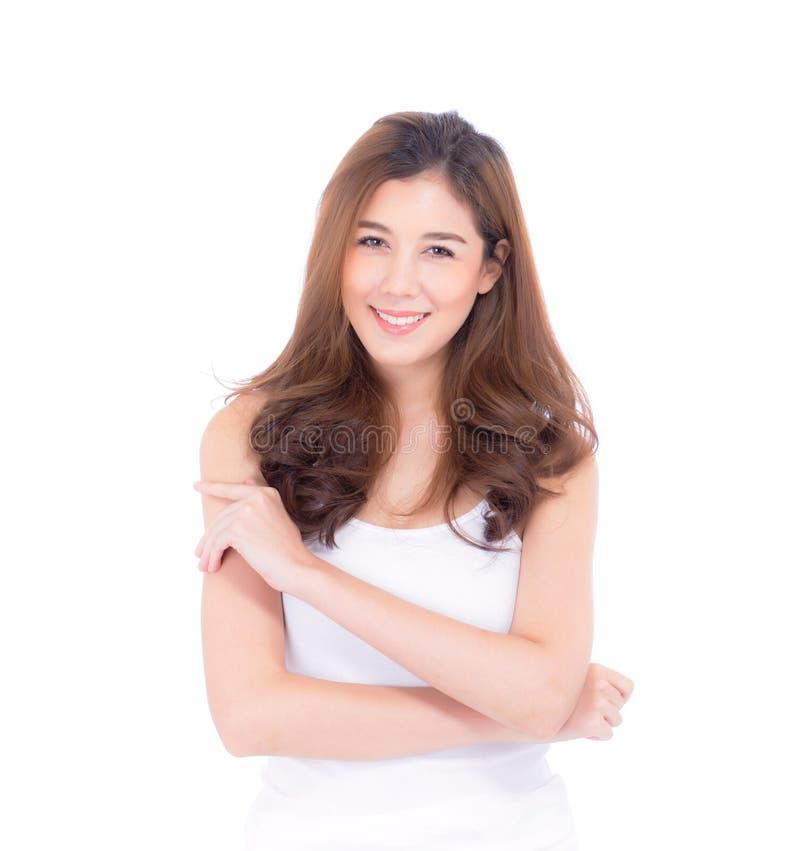 Mooi meisje met make-up, vrouwen en huid het concept van zorgschoonheidsmiddelen stock foto's
