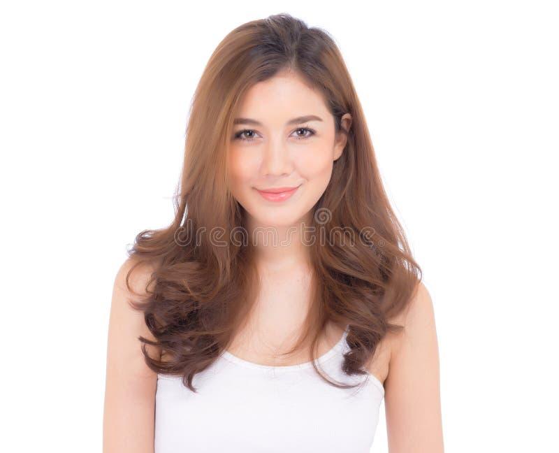 Mooi meisje met make-up, vrouwen en huidzorgconcept stock fotografie