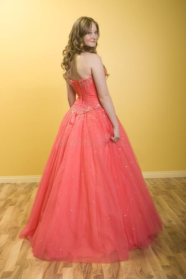 Mooi Meisje Prom stock afbeeldingen
