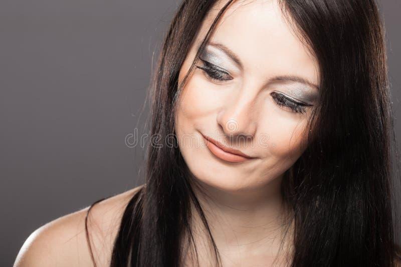 Mooi Meisjesportret stock foto's