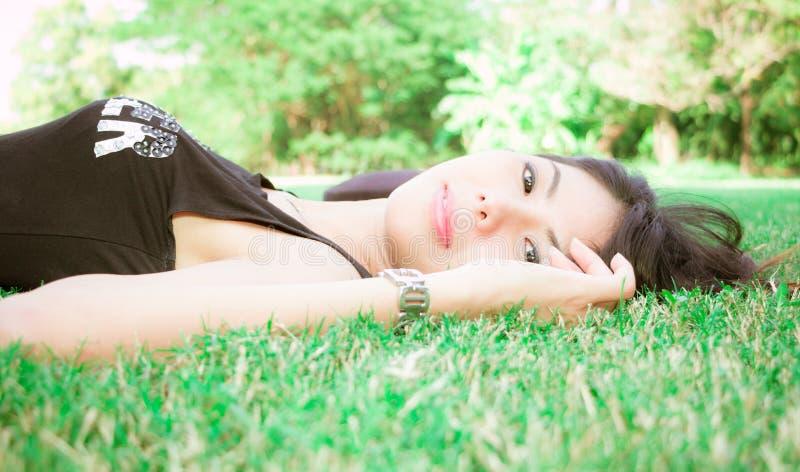 Mooi modelmeisje royalty-vrije stock fotografie