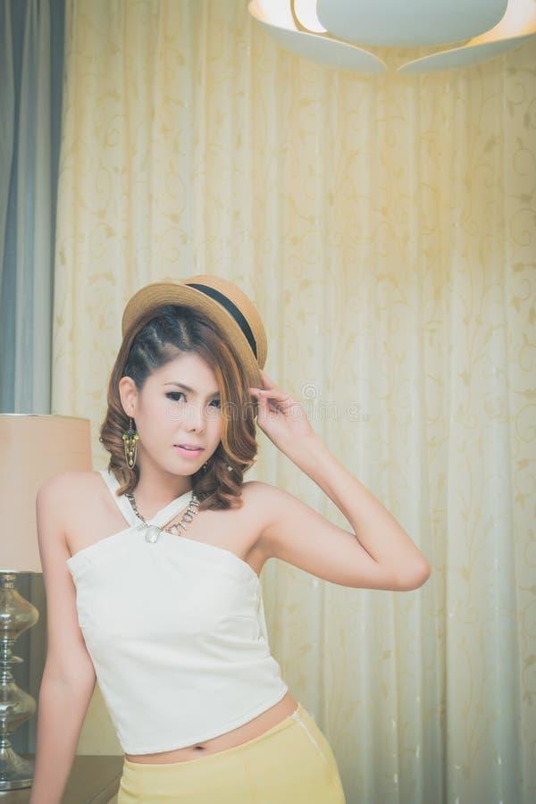 Mooi modelmeisje royalty-vrije stock foto's
