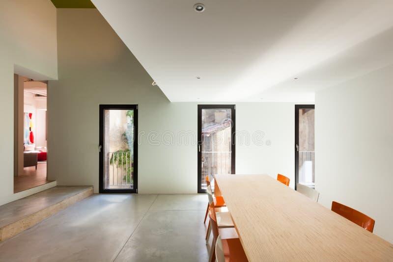 Mooi modern huis royalty-vrije stock afbeelding