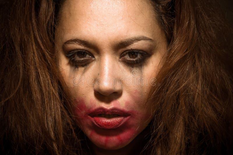 Download Mooi Multiraciaal Meisje In Scheuren Stock Afbeelding - Afbeelding bestaande uit meisje, droefheid: 29508035