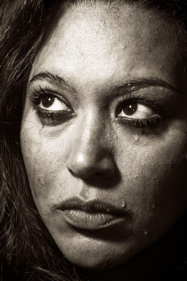 Download Mooi Multiraciaal Meisje In Scheuren Stock Afbeelding - Afbeelding bestaande uit meisje, schreeuw: 29509129