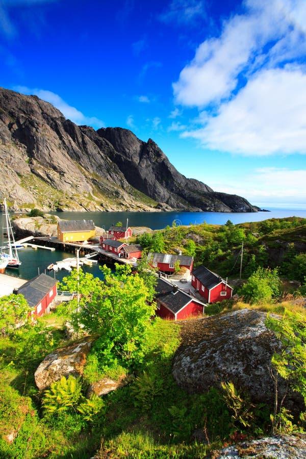 Mooi Noors landschap stock afbeelding