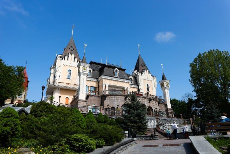 Mooi poppentheater in Kiev royalty-vrije stock afbeelding