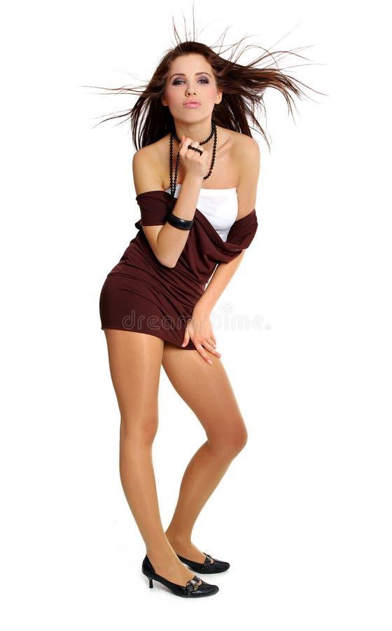 Mooi sexy meisje stock afbeeldingen