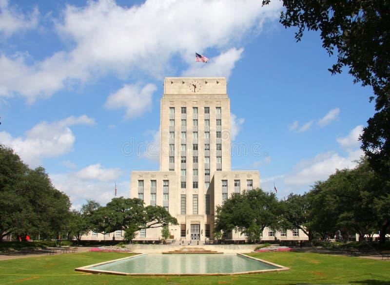 Mooi stadhuis van Houston royalty-vrije stock fotografie
