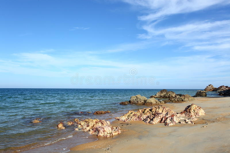 Mooi strand stock afbeeldingen