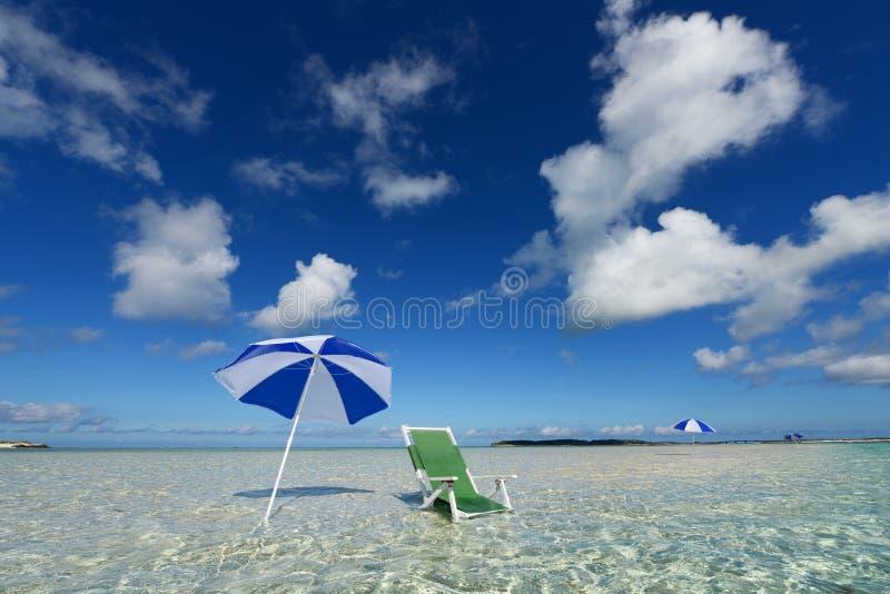 Mooi strand royalty-vrije stock afbeeldingen