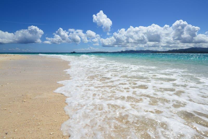 Mooi strand royalty-vrije stock afbeelding