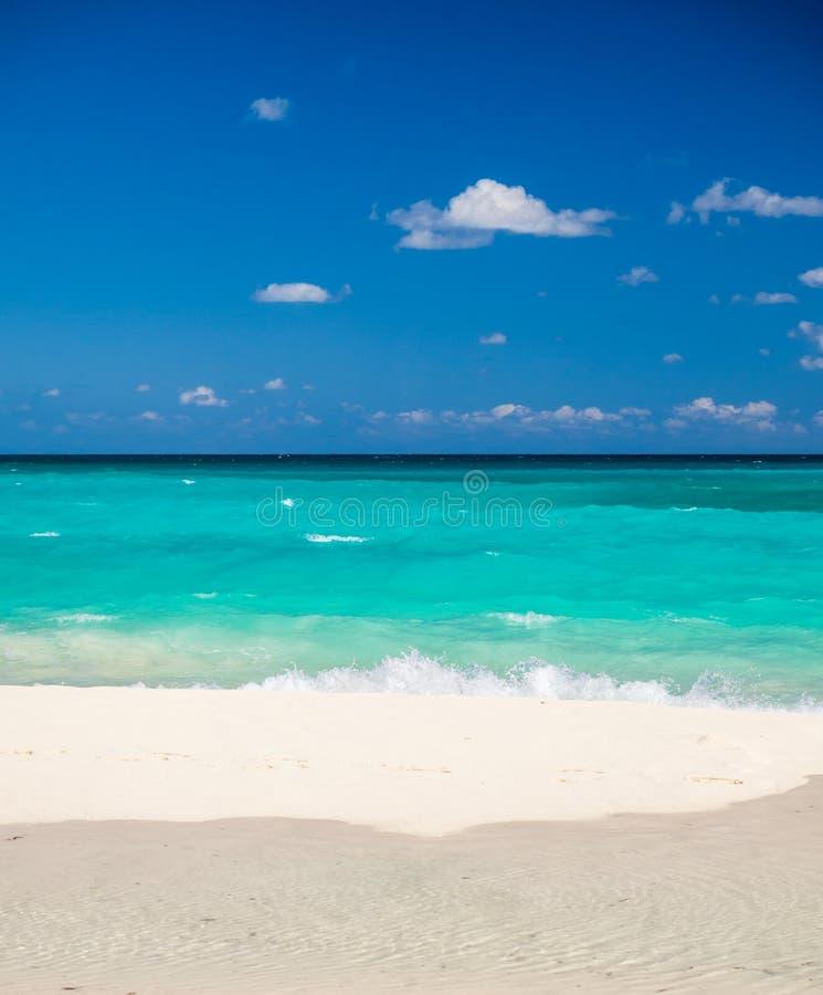 Mooi strand in Mexico royalty-vrije stock afbeeldingen