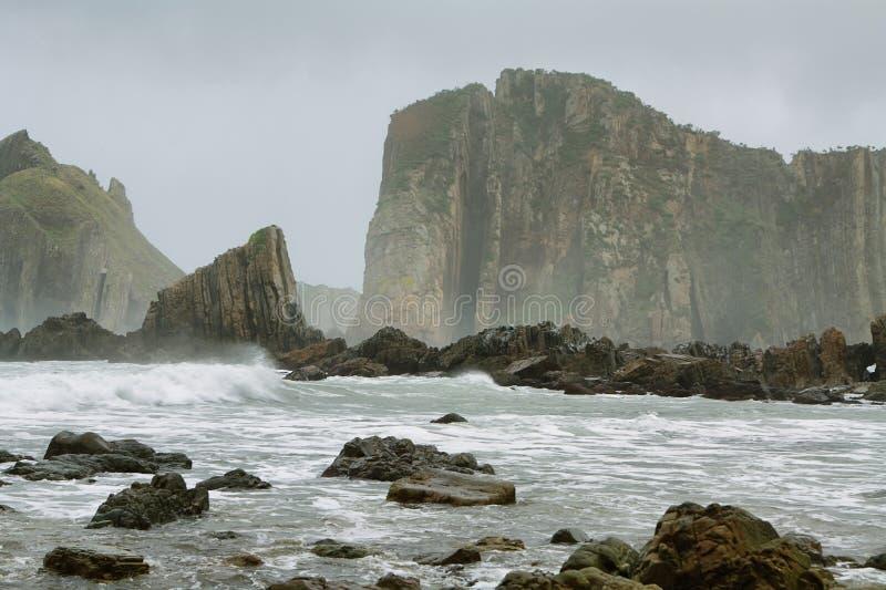Mooi strand van Stilte royalty-vrije stock fotografie