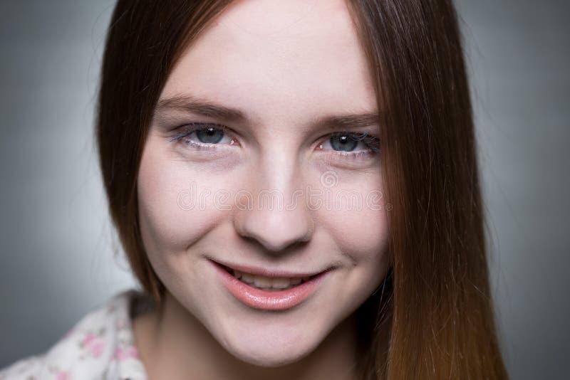 Mooi tiener` s gezicht royalty-vrije stock afbeelding