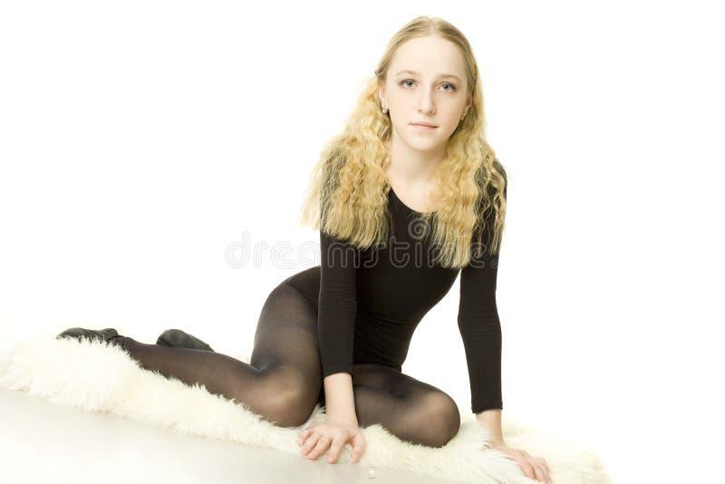 Mooi tienermeisje stock afbeelding