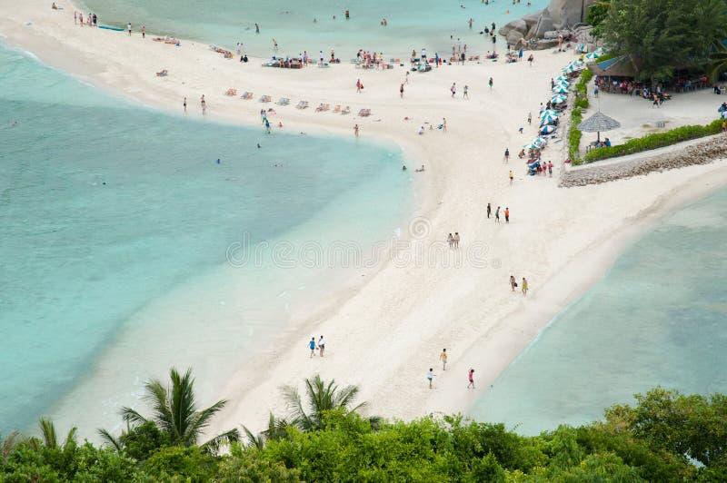 Mooi tropisch paradijs in Thailand royalty-vrije stock afbeelding