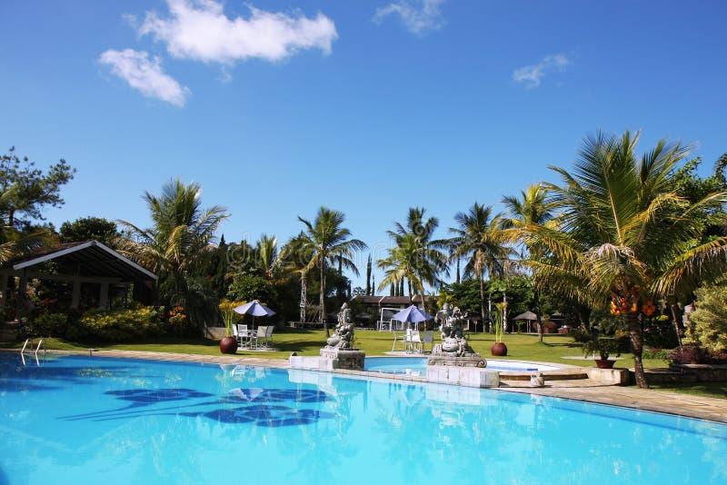 Download Mooi tropisch zwembad stock foto. Afbeelding bestaande uit backyard - 10780330