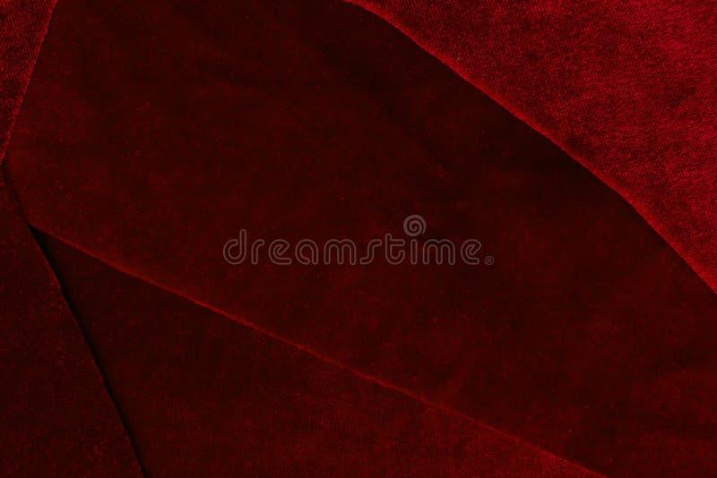 Mooi van de het fluweeltextuur van het luxe donkerrood lapwerk cl als achtergrond royalty-vrije stock afbeeldingen