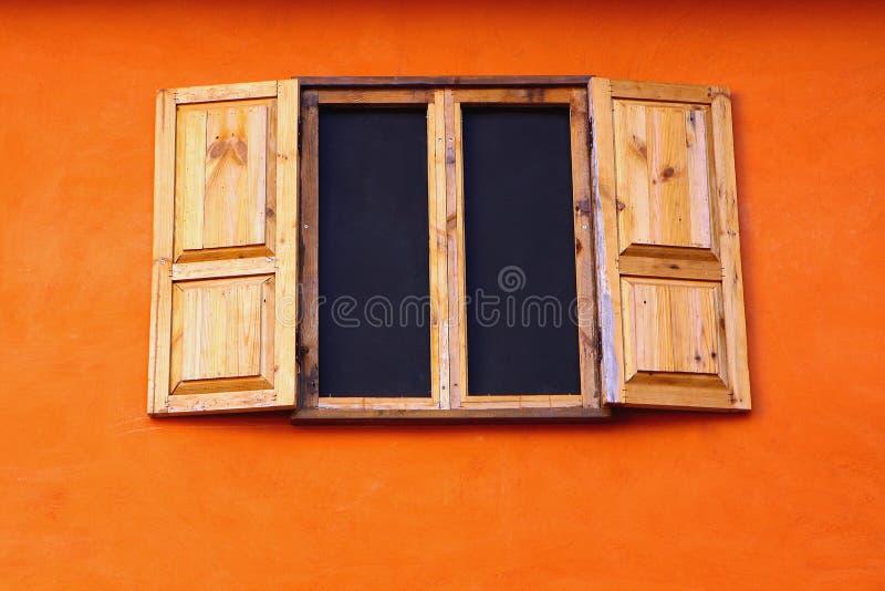 Mooi venster royalty-vrije stock foto