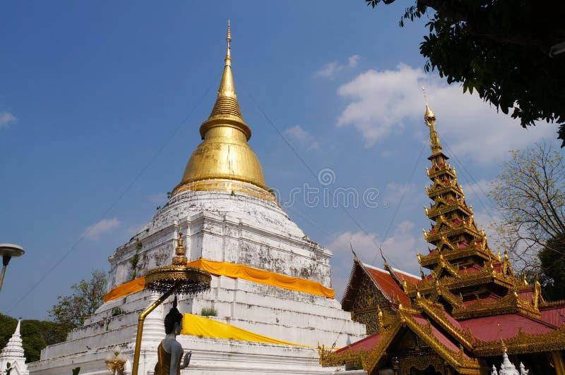 Mooi Wat Phra Kaew Don Tao, Lampang, Thailand royalty-vrije stock afbeelding