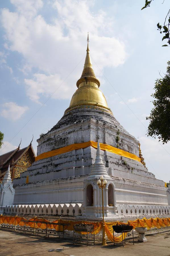 Mooi Wat Phra Kaew Don Tao, Lampang, Thailand stock fotografie