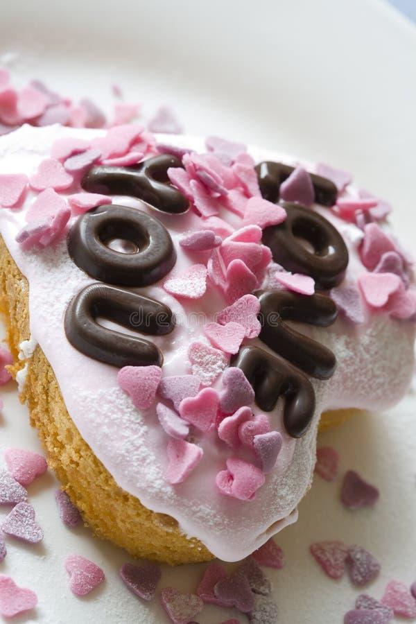 Mooi weinig cake royalty-vrije stock afbeelding