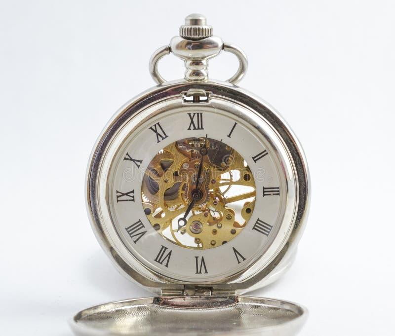 Mooi zie door uitstekend horloge royalty-vrije stock afbeeldingen