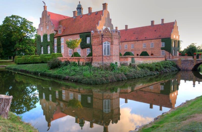 Mooi Zweeds kasteel royalty-vrije stock afbeeldingen
