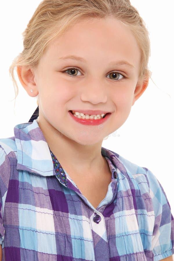 Mooie 7 Éénjarigen stock fotografie