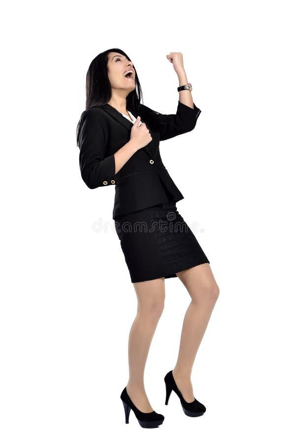 Mooie aantrekkelijke bedrijfsvrouwen stock foto's