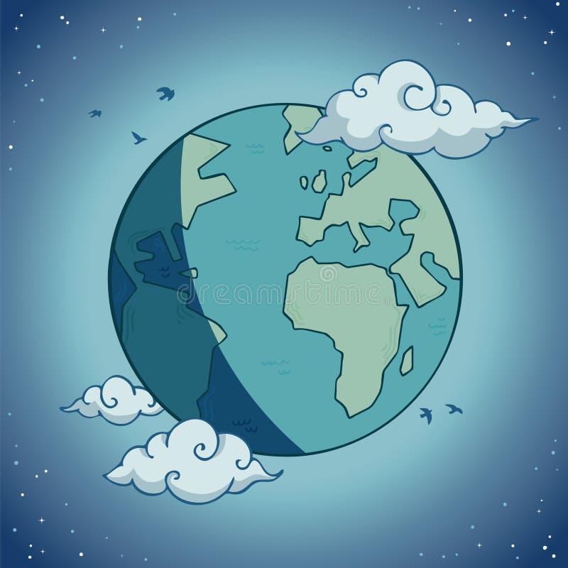 Mooie Aarde stock illustratie