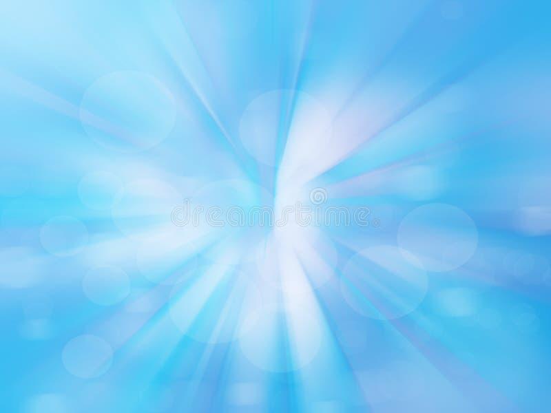 Mooie abstracte fantasie blauwe achtergrond vector illustratie