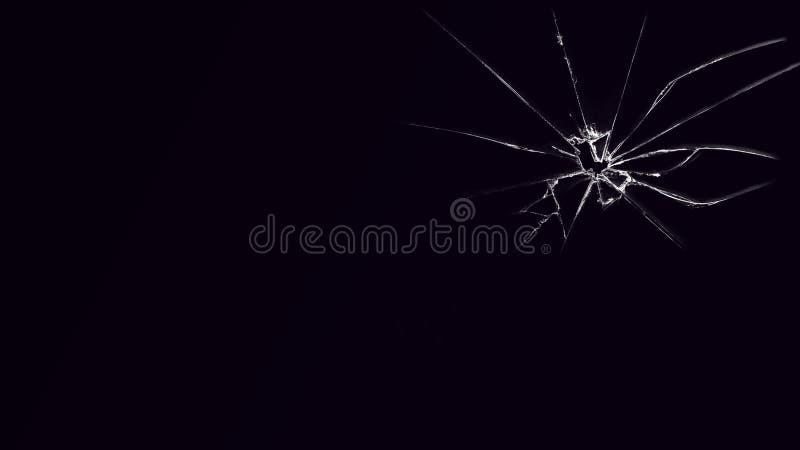 Mooie abstracte golflijnen op de donkere gradiëntachtergrond royalty-vrije stock foto