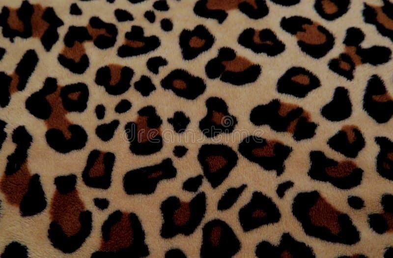 Mooie achtergrond met bont met luipaardkleuring stock foto's