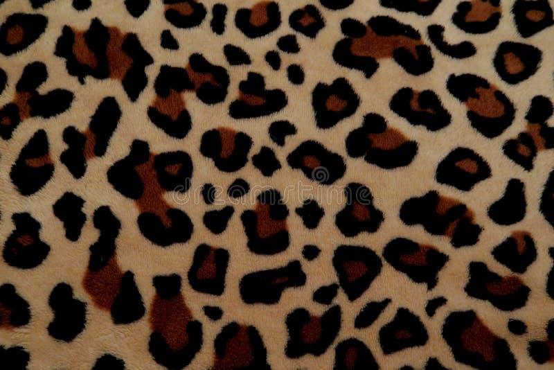 Mooie achtergrond met bont met luipaardkleuring royalty-vrije stock foto's