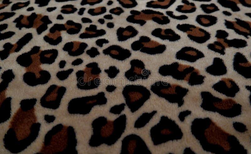 Mooie achtergrond met bont met luipaardkleuring royalty-vrije stock afbeelding