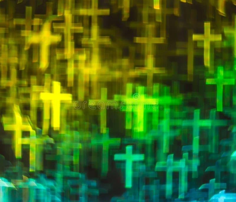 Mooie achtergrond met verschillende gekleurde dwars, abstracte rug royalty-vrije stock foto