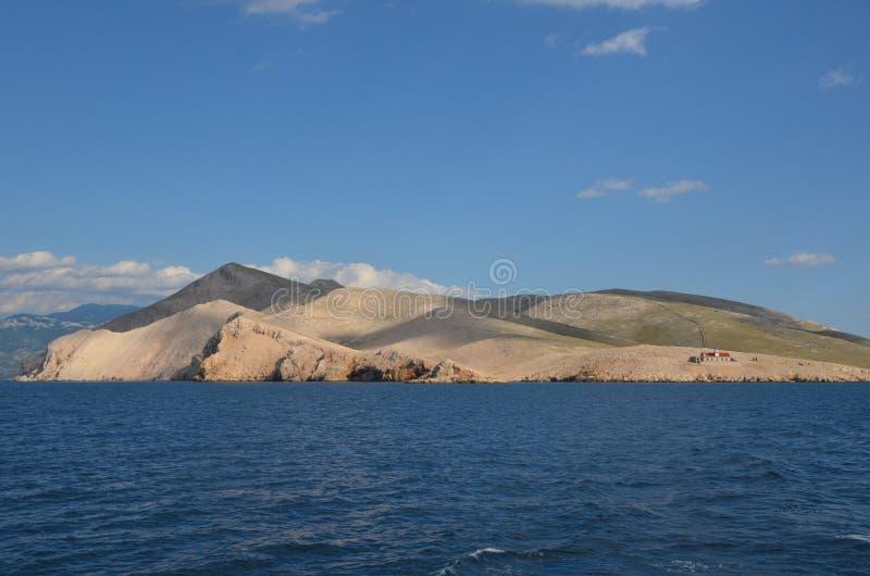 Mooie Adriatische Overzees in de Zomer van 2015 royalty-vrije stock foto
